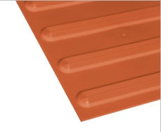NRTD4007 - Rapid Tile / Terracotta / Standard Colour|NPTD4007 - Plain Tile / Terracotta / Standard Colour