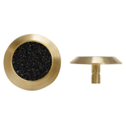 NBS14 - Pin Back / Black Carb. Insert