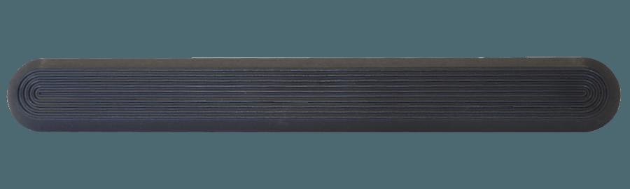 NPD1001 - Black / Pin Back / Plain Side