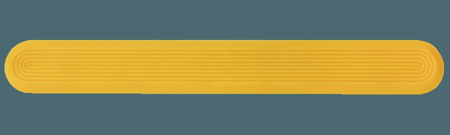 NPD1002 - Yellow / Pin Back / Plain Side
