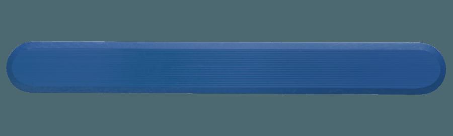 NPD1005 - Blue / Pin Back / Plain Side