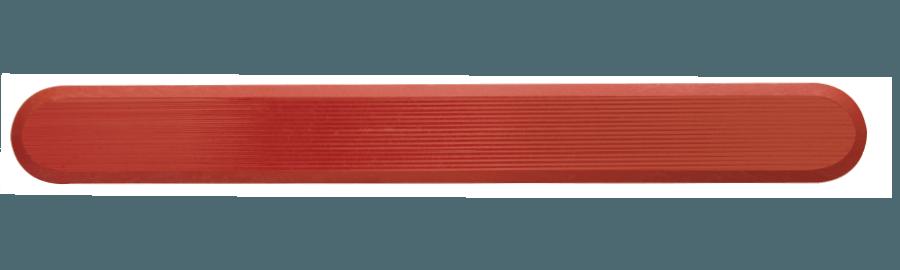 NPD1007 - Teracotta / Pin Back / Plain Side
