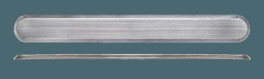 NSSD20 - Flat Back / Grooved Top / Plain Sides