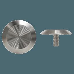 NSSS10 - Pin Back / Plain Side