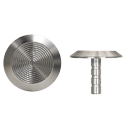 NSSS10LP - Long Pin Back / Plain Side