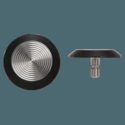 NSSS13 - Pin Back / Black Poly Side