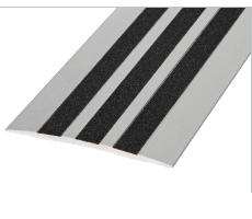 SMT100AI - Aluminium Cover Trim 100mm With Anti-slip Inserts