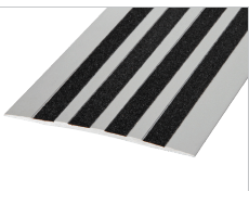 SMT125AI - Aluminium Cover Trim 125mm With Anti-slip Inserts