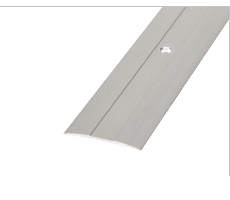 SMT50WH - Aluminium Cover Trim 50mm With Fixing Holes