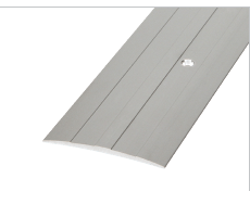 SMT75WH - Aluminium Cover Trim 75mm With Fixing Holes